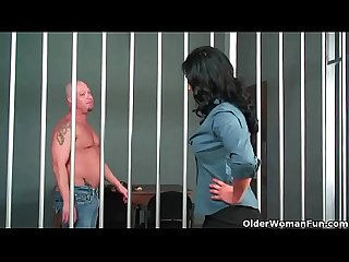 American milf isis love gets fucked by jailbird
