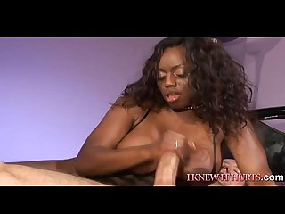 Black Beauty in MMF Threesome