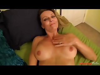 Worried mom talks to son and fucks him