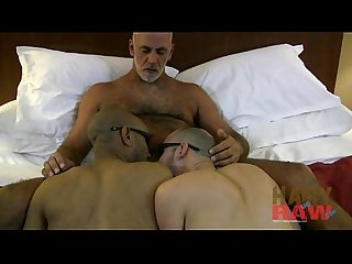 HairyAndRaw.com Jeff Grove, Michael Brady and Xavier Brady - Video -..