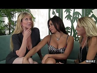 WANKZ- Three Stacked MILFs Slut Up
