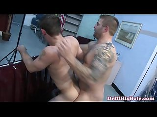 Weak bottom dude fucked hard and rough