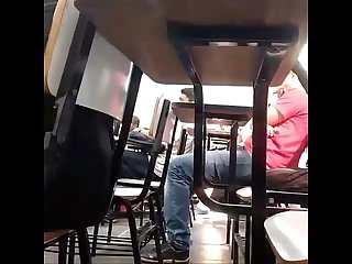 At school Spycam boner