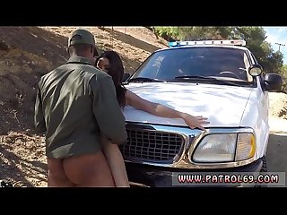 Police strip tease and borderpatrolborder patrol the crew picked up