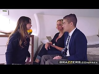 Brazzers moms in control the loophole scene starring briana banks taylor sands and xander corv