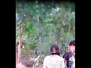 Myanmar spying young couple outdoor sex 15