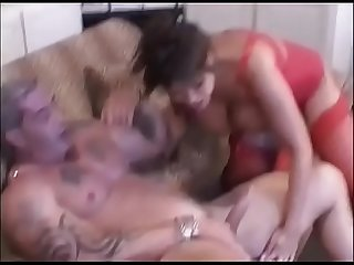 Interracial sex with a stunning and busty asian woman
