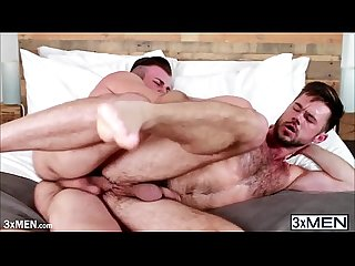 Jarec wentworth jams Mike de marko sweet butt with hard fat cock