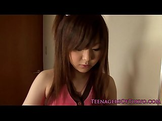 Petite asian gf wakes bf up with a handjob