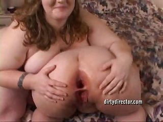 Two juicy bbw ass fucking N gaping