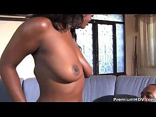 Big tit ebony babe Aryana Starr spends time fucking