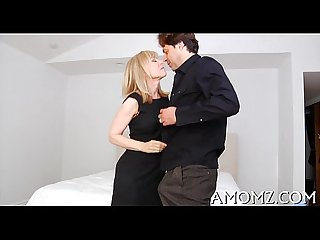 Sultry mom fucked by a hot man
