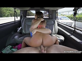 Layla London Gets The D On The Bang Bus (bb15059)