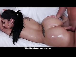 Teamskeet hot cuban babe fucks coach