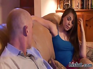 Lisa ann fucks a young whore