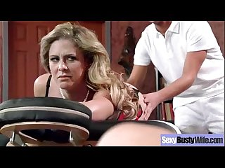 Sexy busty mommy cali cherie enjoy hardcore bang video 09