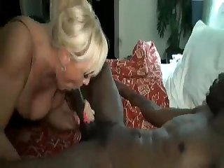 Hubby films Alexis golden choking down richard mann s monstercock