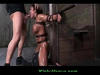 Milf ava gets throat fucked hard