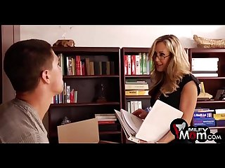 Brandi love gives an amazing blowjob milfymom com