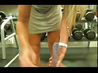 Jenny masturbates in gym getmycam com