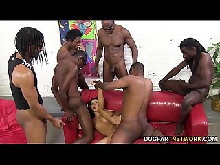 Bbc lover pressley carter does interracial gangbang