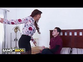Bangbros juan el caballo loco fucks his step mom syren de mer