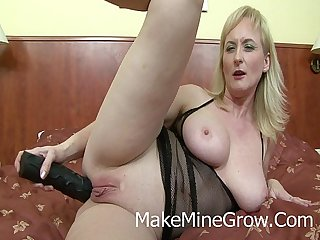 Hot milf screwed by a black cock in the ass