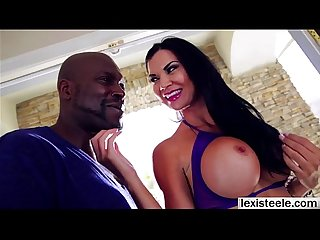 Hunk lex with his black cock blasts jasmines juicy ass