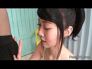 Warm blowjob with young japanese beauty hikaru morikawa
