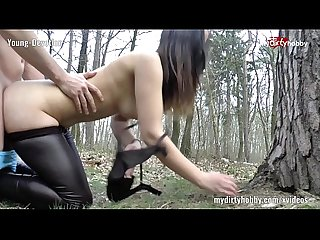 My Dirty Hobby - Young-Devotion Im Wald geblasen