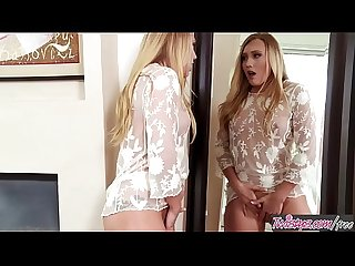 Twistys - (AJ Applegate) starring at Mirror Mirror