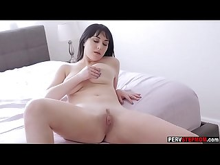 Spying stepson recorded a MILF stepmom masturbating