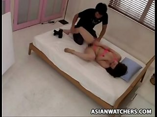 Asian Model trcked into Sex