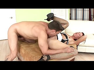 Young french maid has a thing for her master S cock