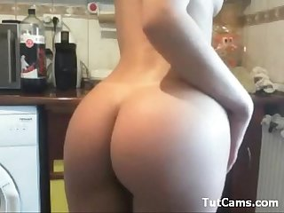 Amazing busty Teen Webcam playing 01