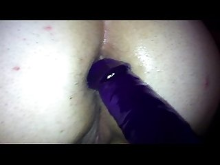 Wife Deb Anal Dildo ass up
