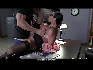 Hot big Boob office slut fuck boss big dick 2