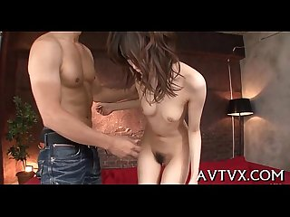Electrifying oriental pussy satisfying