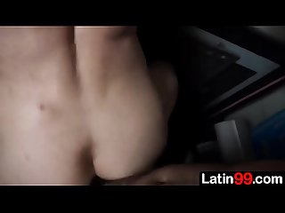 I offer him a few bucks to suck my cock and then a few more pesos, and he lets me fuck his ass