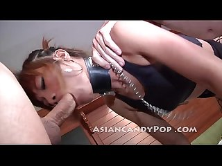 thai milf gets the cock and balls