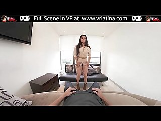 VRLatina.com - Sexy Curvy Beauty Sex in 5K VR