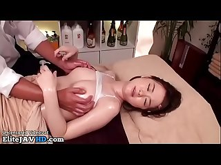 Japanese massage with 18yo cutie goes wrong