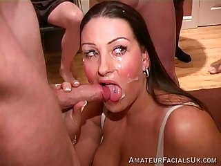 Amateur facials uk dani amour 3