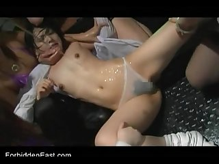 Uncensored japanese erotic fetish sex les rave 2 Pt 4