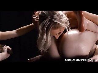 Two Mormon Teen Girls Punish Sister And Share Orgasms