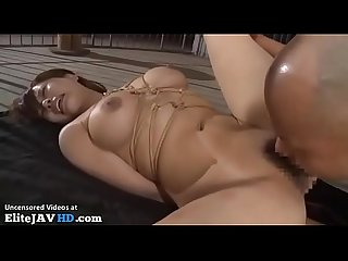 Japanese busty tied and fucked hard more at elitejavhd com