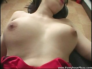 Asian moans loudly as she gets fucked wildly