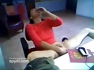 Mother masturbating on hidden cam