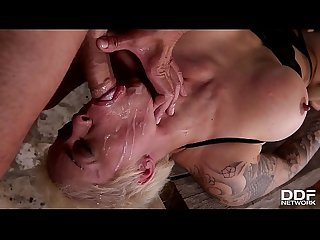 Blonde Slut Mila Milan DP & Rough sex Domination