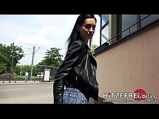 HITZEFREI.dating �?� SKINNY MEGAN VENTURI Fucked by Random Guy in TAXI and Abandoned..